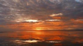 Kolorowy wschód słońca 07 zbiory wideo