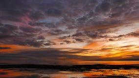 Kolorowy wschód słońca 41 zbiory wideo