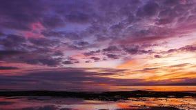 Kolorowy wschód słońca 42 zbiory wideo
