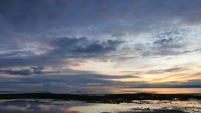Kolorowy wschód słońca 46 zbiory wideo