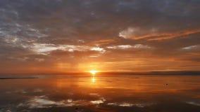 Kolorowy wschodu słońca czasu upływ 01 zbiory wideo
