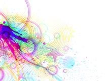 kolorowy wybuch Obrazy Stock
