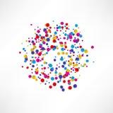 Kolorowy wybuch kolor grafika ilustracji