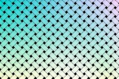 Kolorowy wyplata deseniowego tło Fotografia Stock