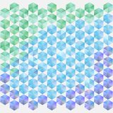 Kolorowy wzór Zdjęcia Stock