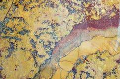 Kolorowy wzór marmurowy kamień polerujący Zdjęcie Royalty Free