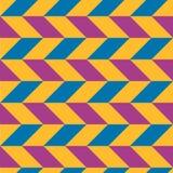 Kolorowy wzór z abstrakcjonistycznymi postaciami Obraz Royalty Free