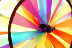 Kolorowy zabawkarski wiatraczek Zdjęcie Stock