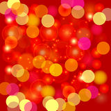 Kolorowy Zamazany Lekki tło Fotografia Stock