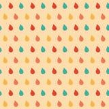 Kolorowych kropel bezszwowy wzór. Obraz Royalty Free