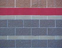 koloru ściana z cegieł tło Obraz Royalty Free