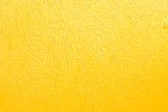 Koloru żółtego ścienny tło Obraz Royalty Free