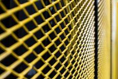 Koloru żółtego ogrodzenie Zdjęcie Stock