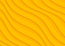 Koloru żółtego papierowy geometryczny wzór, abstrakcjonistyczny tło szablon dla strony internetowej, sztandar, wizytówka, zaprosz ilustracji
