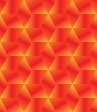 Koloru żółtego sześcianu bezszwowy wzór Zdjęcia Stock