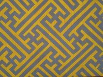 Koloru żółtego wzór obraz stock