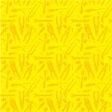 Koloru żółtego wzór dużo narzędzia Ilustracja Wektor