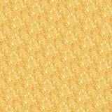 Koloru żółtego wzór z małymi okręgami Obraz Stock
