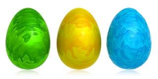 koloru abstrakcyjne jajko royalty ilustracja
