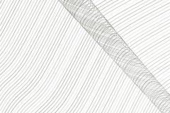 Koloru abstrakta linia, krzywa & falowy geometryczny deseniowy generatywny sztuki tło, Kanwa, tło, wektor & powierzchnia, ilustracji