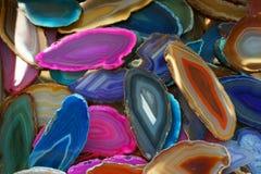 koloru agata kolekcja Obrazy Royalty Free