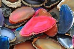 koloru agata kolekcja Obraz Stock