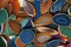 koloru agata kolekcja Obraz Royalty Free