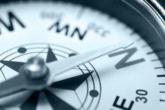 koloru błękitny kompas zdjęcia stock
