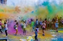 Koloru bieg Bucharest Obrazy Stock