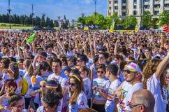 Koloru bieg Bucharest Obraz Stock