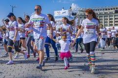 Koloru bieg Bucharest Obrazy Royalty Free