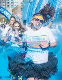 Koloru bieg Las Vegas Obrazy Royalty Free