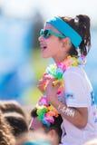 Koloru bieg Tropicolor Światowa wycieczka turysyczna 2016 Obrazy Royalty Free