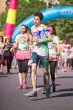 Koloru bieg Tropicolor Światowa wycieczka turysyczna 2016 Obraz Stock