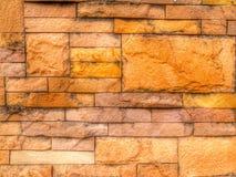 Koloru blick ściany krótkopęd w hdr Fotografia Stock
