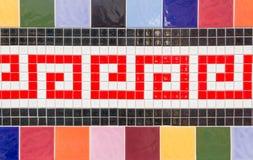 Koloru Ceramiczny tło Obraz Stock