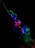 koloru czarny dym Zdjęcie Royalty Free