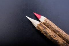 Koloru drewna ołówki Obrazy Royalty Free