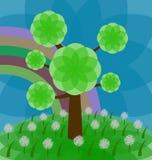 koloru drzewo Obraz Stock