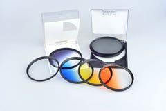 Koloru filtr Obrazy Stock