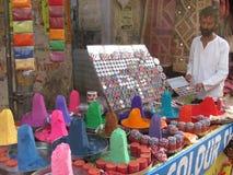 Koloru handlarz Zdjęcie Royalty Free
