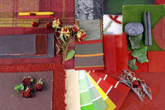 Koloru harmonisation dla wnętrza Obrazy Royalty Free