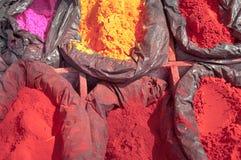 koloru ind Nepal prochowy tika Zdjęcie Stock
