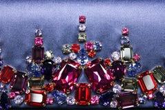 koloru klejnotów błyszczący różnorodny Zdjęcia Stock