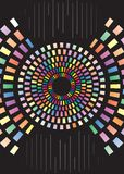 koloru kombinaci ilustracja Fotografia Royalty Free