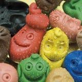 koloru kropli ludzie uśmiechów Obrazy Stock