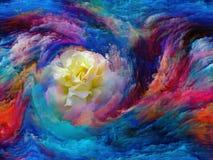 Koloru kwiat ilustracja wektor