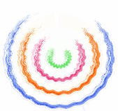 Koloru logo Obrazy Royalty Free