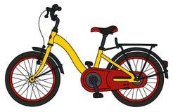 Koloru miasta bicykl royalty ilustracja