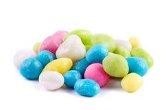 Koloru morze dryluje cukierki odizolowywających Zdjęcia Royalty Free